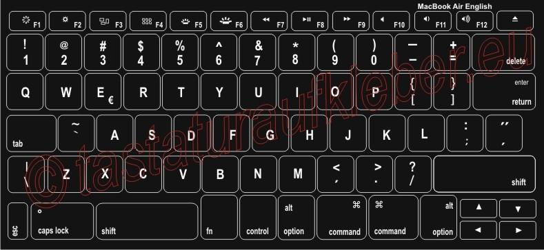 Tastaturaufkleber Fur Mac