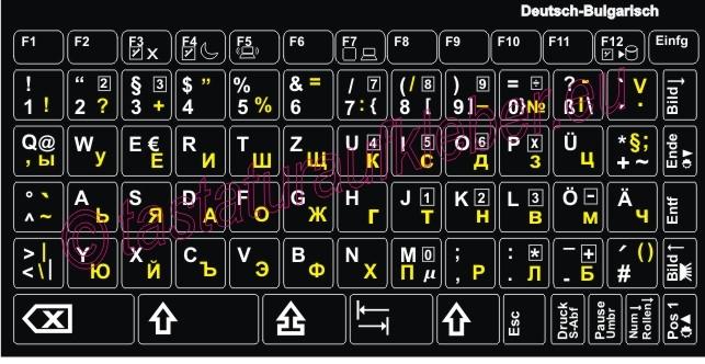 bulgarische tastatur